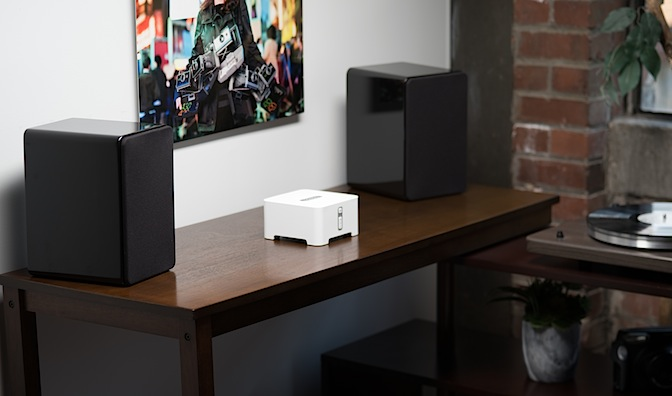 M speaker with SONOS Connect